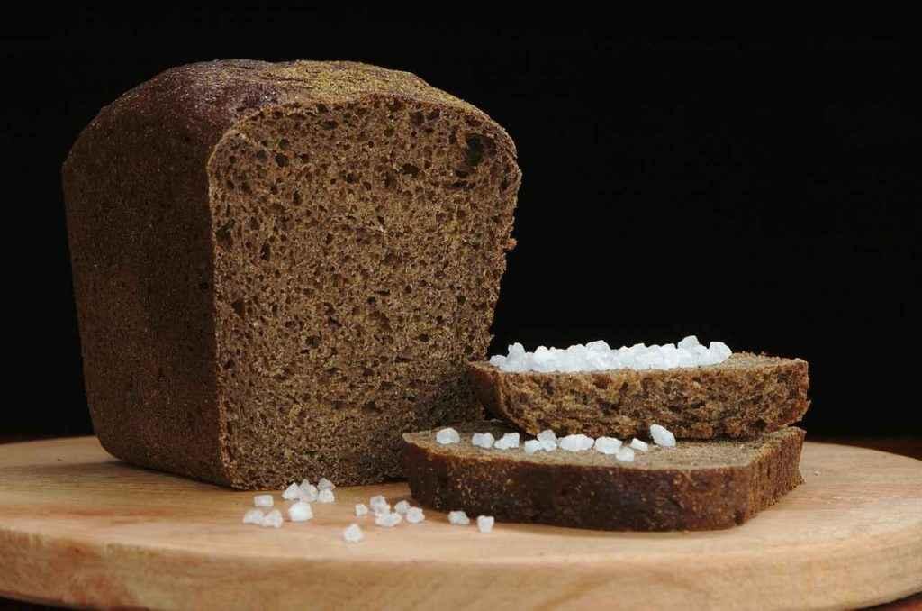 Хлеб ржаной содержит хлор