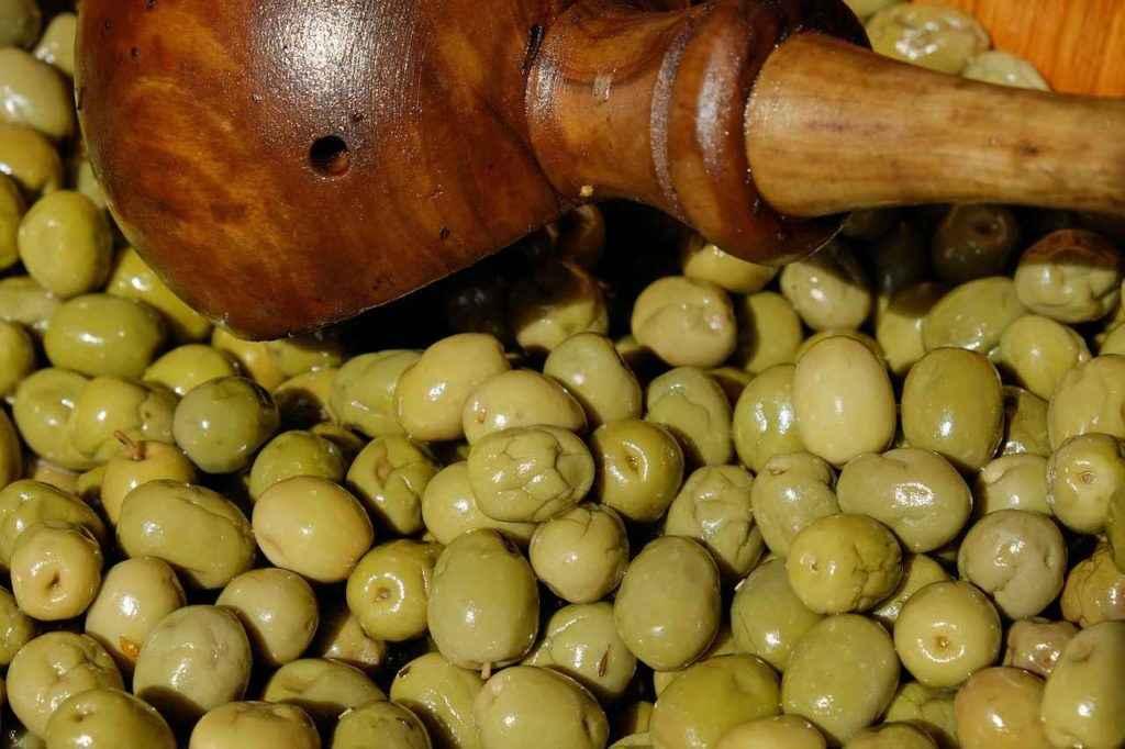 натрий в оливках