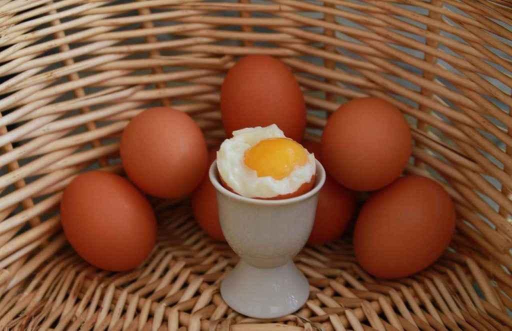 яйца содержат серу